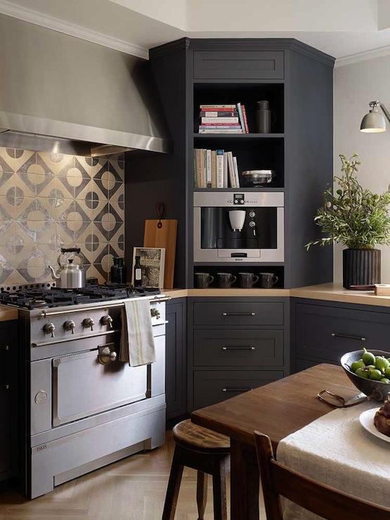 Corner Kitchen Cabinet Modern Kitchen Jute Interior Design