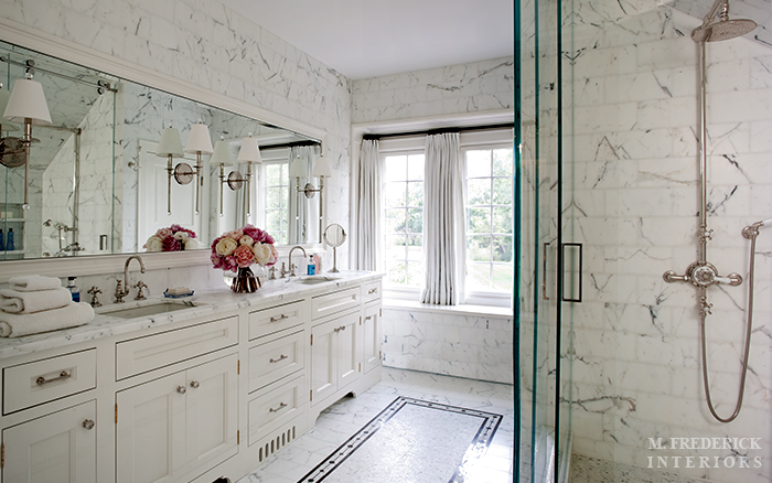 Sconces For Bathroom Mirror sconces mounted on bathroom mirror design ideas