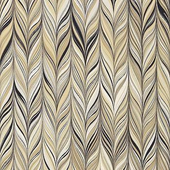 Schumacher Mary McDonald Firenze Greige Fabric I LynnChalk.com