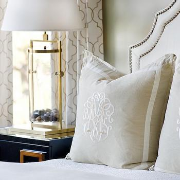 Trellis Curtains, Transitional, bedroom, Panageries