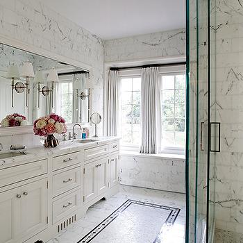 Sconces Mounted On Bathroom Mirror Design Ideas - Sconces mounted on bathroom mirror