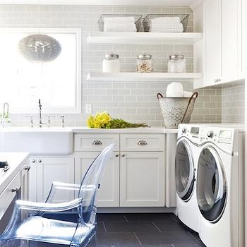 Laundry room and office combo ideas transitional for Utility room office