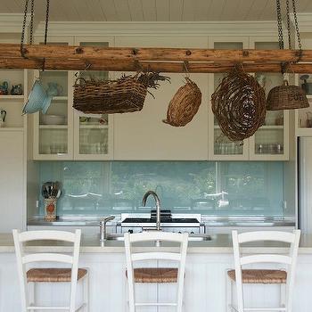 Paneled Kitchen Ceiling Design Ideas