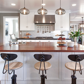 Beadboard Ceiling Kitchen, Transitional, kitchen, Kriste Michelini Interiors