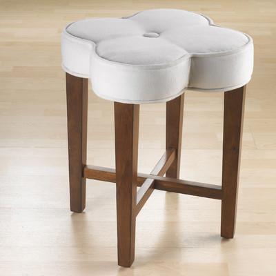 Amazing Hillsdale Clover Vanity Stool Wayfair Ncnpc Chair Design For Home Ncnpcorg