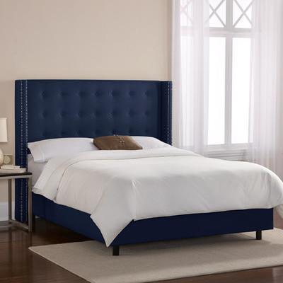 Skyline Furniture Patriot Wingback Bed Wayfair