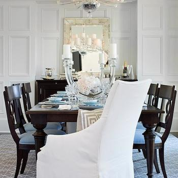Full Wall Wainscoting, Traditional, dining room, TRI Traci Rhoads Interiors