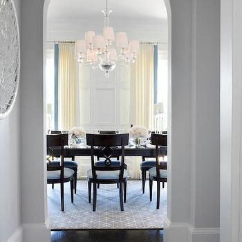 Dining Room Trim Molding, Traditional, dining room, TRI Traci Rhoads Interiors
