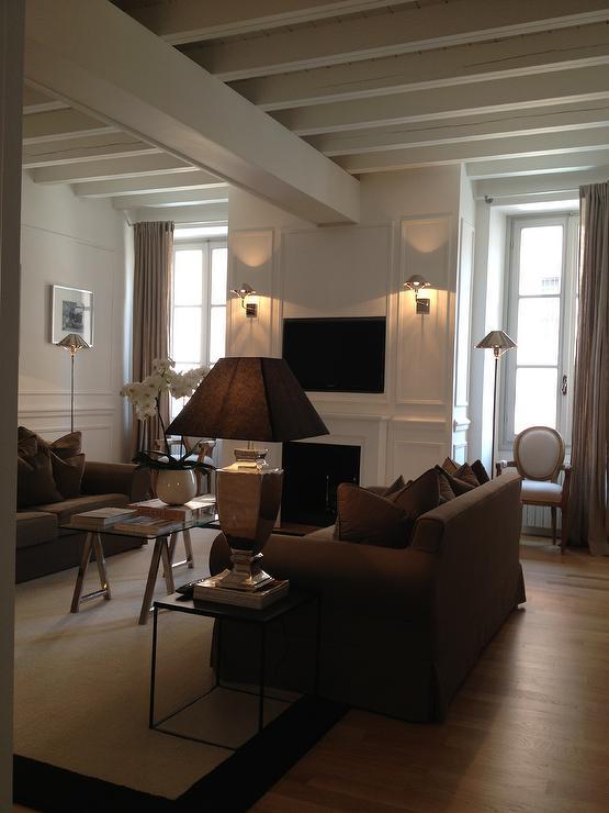 Monochromatic living room design ideas for Monochromatic living room ideas