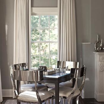 Gray Living Room Walls Design Ideas