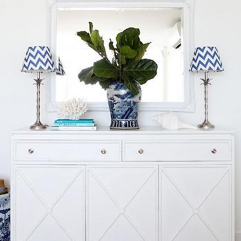 White Baroque Mirror, Cottage, entrance/foyer, Adore Magazine