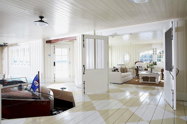 Painted White Hardwood Floors Design Ideas