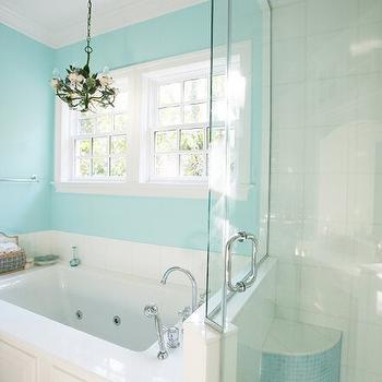 Tiffany Blue Bathroom Designs : Amazing tiffany blue bathroom with tiffany blue walls as well as green ...