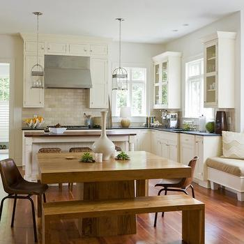 Kitchen Window Seat, Eclectic, kitchen, The Banks Development Company