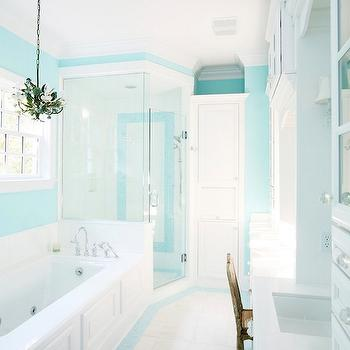 blue paint colors contemporary bathroom sherwin williams spa