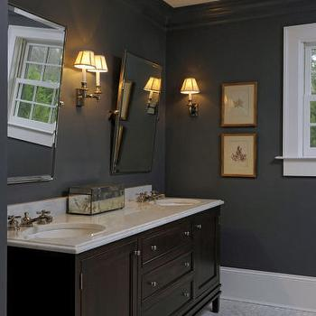 Gray Bathroom Eclectic Bathroom Jas Design Build