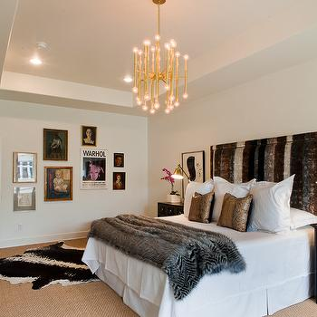 Zebra Throw Blanket, Contemporary, bedroom, Sally Wheat Interiors