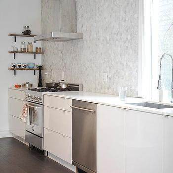 Stainless Steel Sink And Countertops Modern Kitchen