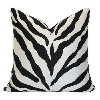 Zebra Pillow I Ariannabelle.com