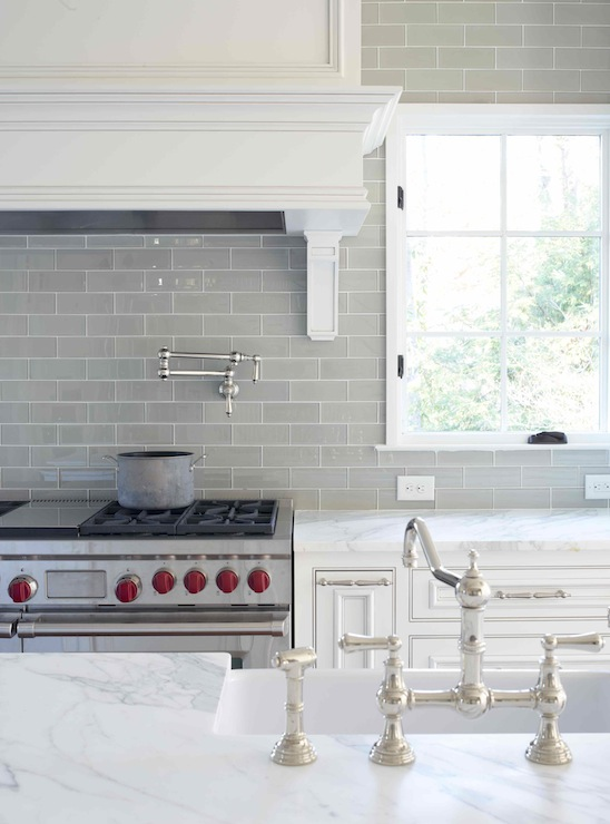 gray glass subway tile transitional kitchen l kae
