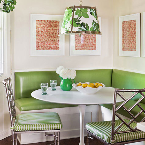 L shaped banquette eclectic dining room caitlin for L shaped dining room ideas