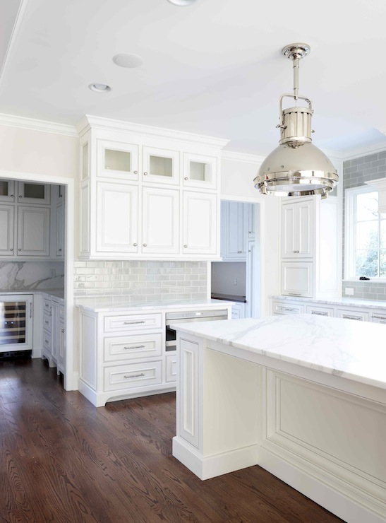 beaded inset cabinets - transitional - kitchen - l. kae interiors