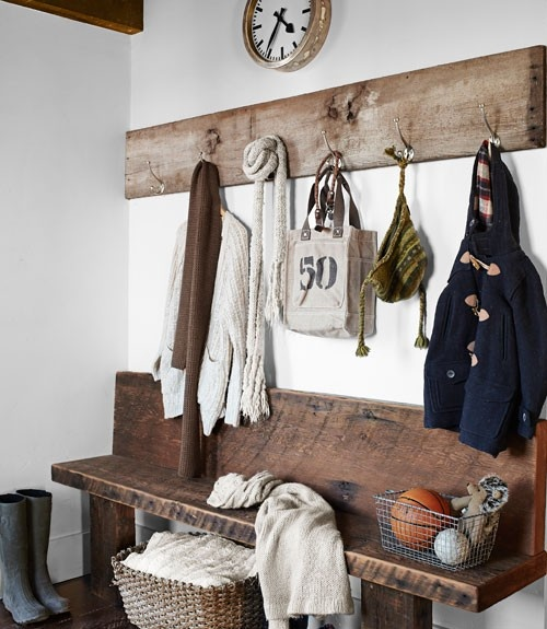 Marvelous Mudroom Bench Country Laundry Room Country Living Squirreltailoven Fun Painted Chair Ideas Images Squirreltailovenorg