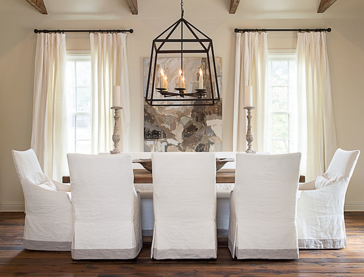 Slipcovered Dining Chairs