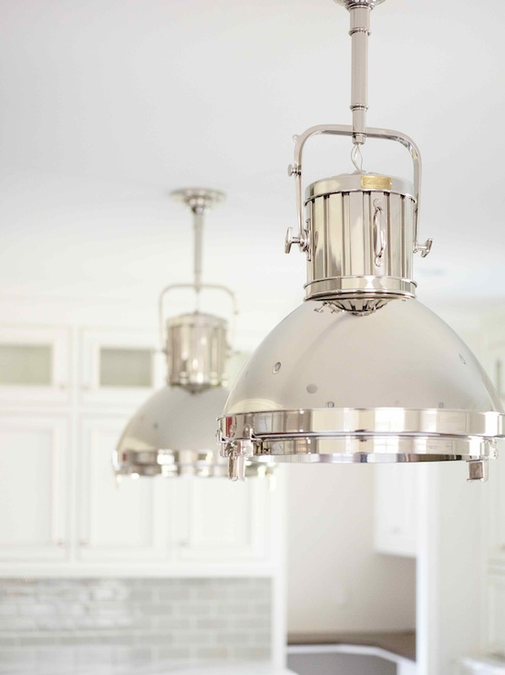 Montauk xl pendant transitional kitchen l kae interiors Best pendant lights for white kitchen