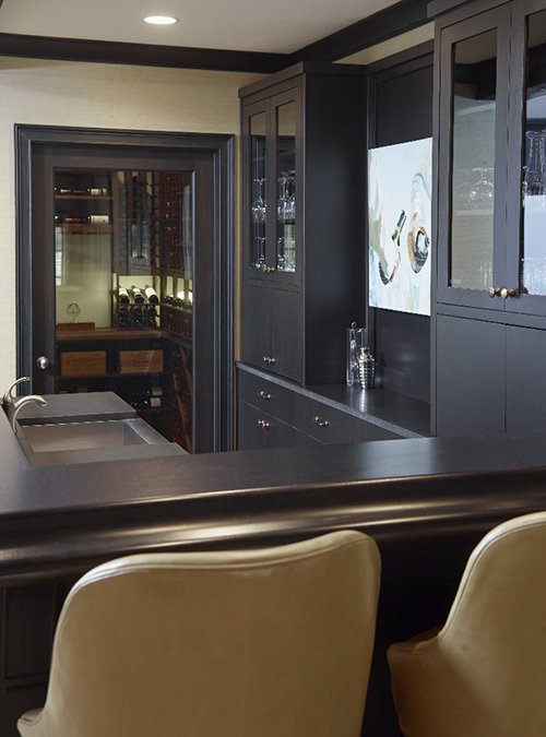 Wet Bar Design Transitional Basement L Kae Interiors