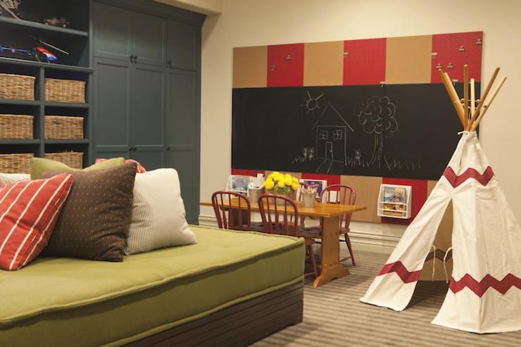basement playroom contemporary basement taylor borsari