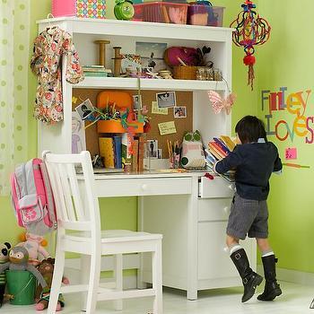 Catalina Storage Desk Amp Small Hutch Pottery Barn Kids