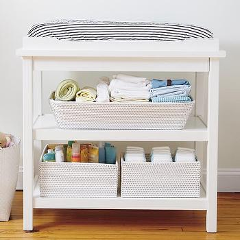 Baby White Durable Changing Table I The Land Of Nod