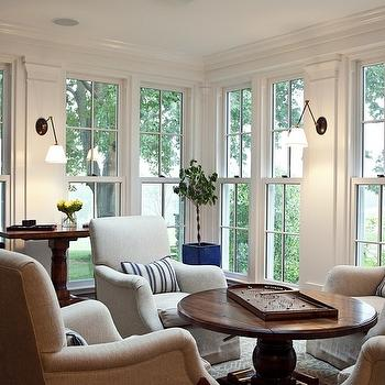Sunroom Design, living room, Marcia Tucker Interiors
