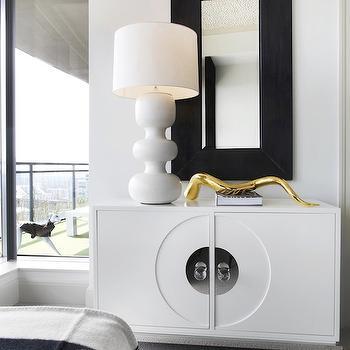 White Lacquer Mirror Design Ideas