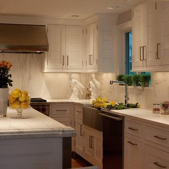 Paneled Kitchen Cabinets, Transitional, kitchen, Marcia Tucker Interiors