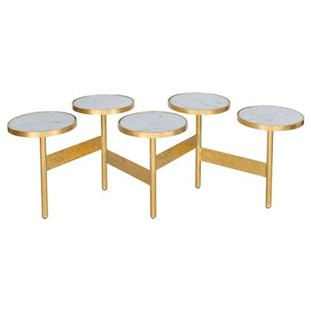 cluster coffee table - look 4 less and steals and deals.