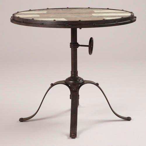 Hughes Industrial Accent Table World Market - World market industrial table