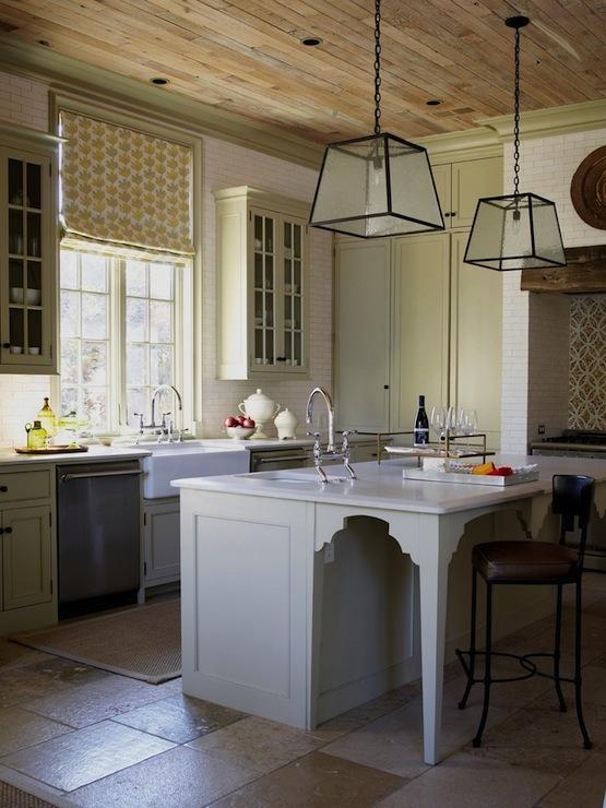 Limestone Floor Cottage Kitchen Pratt And Lambert