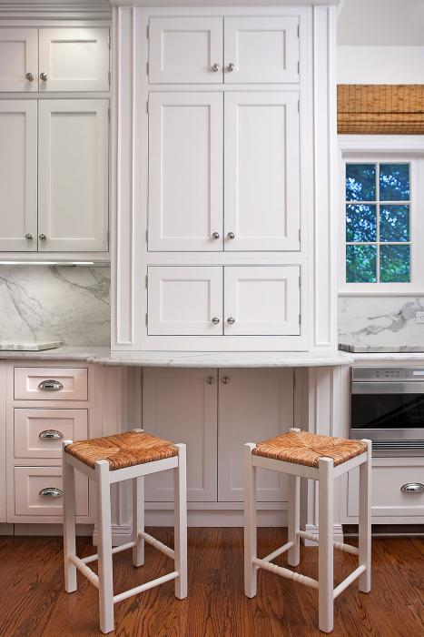 Seagrass Bar Stools Transitional Kitchen Amanda
