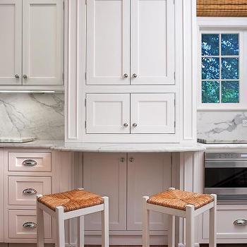 Seagrass Bar Stools Transitional Kitchen Cote De Texas