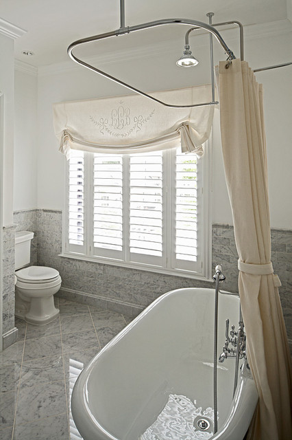 view full size elegant bathroom design with ceiling mounted