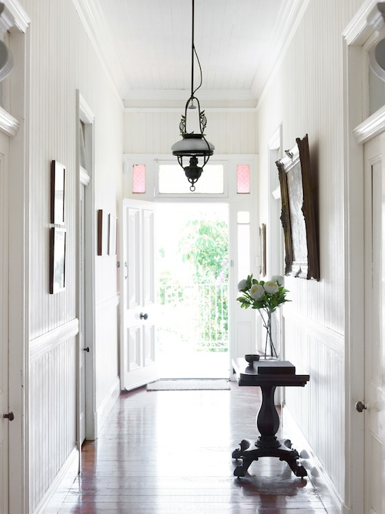 Long Narrow Foyer Designs : Long foyer design cottage entrance toby scott