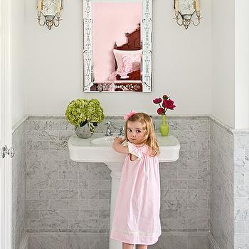 Princess Bathroom, Traditional, bathroom, Kellie Burke Interiors