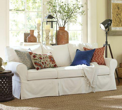 Slipcover For Oasis Sofa Crate Amp Barrel