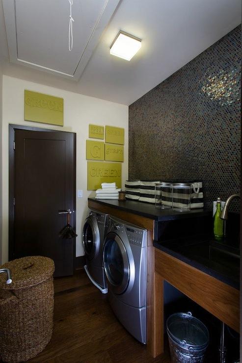Laundry Room Shelf Transitional Laundry Room