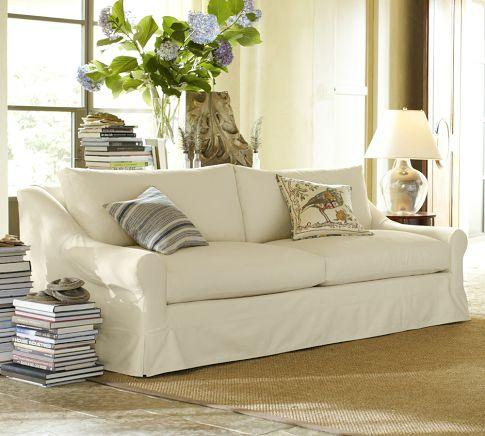 Windsor Slipcovered Sofa Pottery Barn