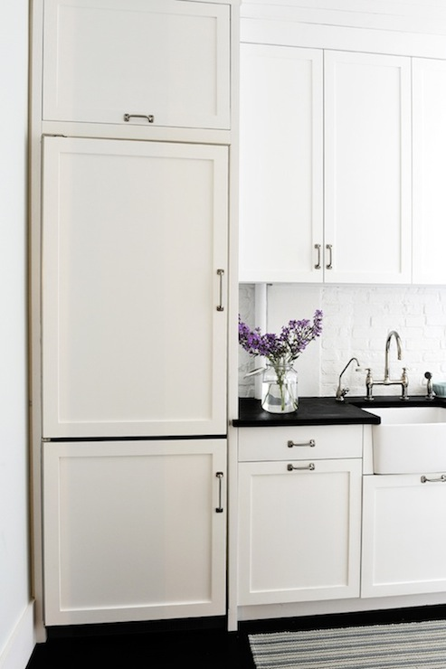 Restoration Hardware Kitchen Cabinet Pulls Bertazzoni Range  Transitional  Kitchen  Diy With Add