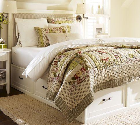 Stratton Bed with Drawers - Pottery Barn link on pinterest view full size & Stratton Bed with Drawers - Pottery Barn