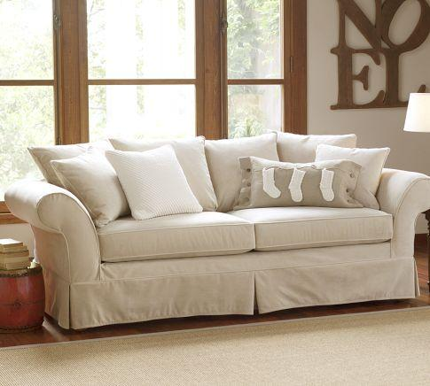Hampton Grand Sofa Pottery Barn